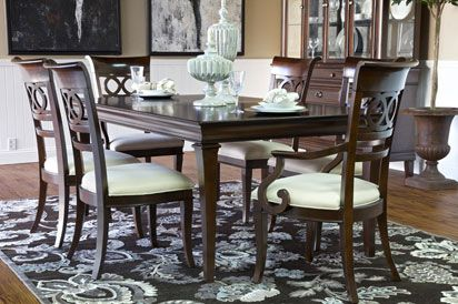 Elegant Kendall Dining Room Set At Mor Furniture. I Like The Traditional Look In A  Dining Photo