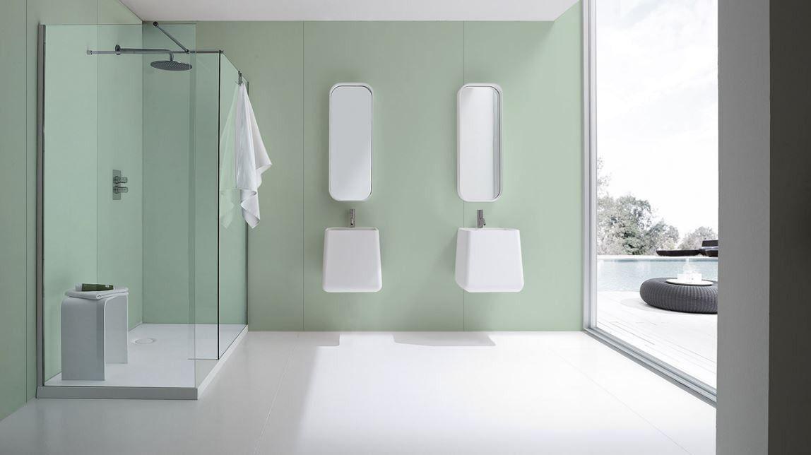 Proclad PVC Wall Panels - Aqua Colour, Solid Colour Cladding ...