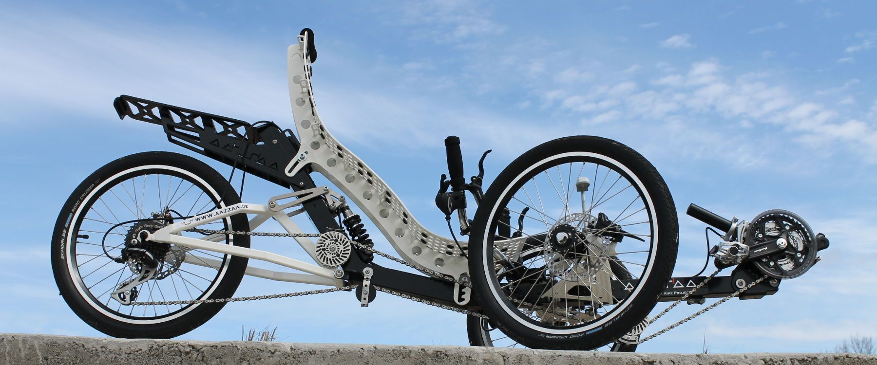 AAZZAA free full-suspension recumbent / trike project ...
