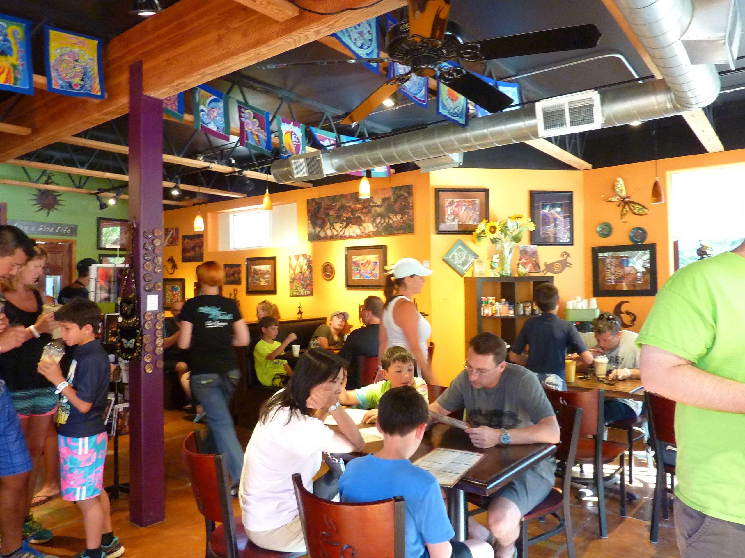 Cafe soleil zion park coffee shop in springdale utah