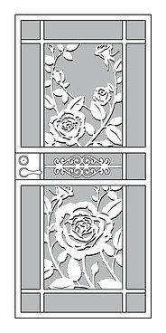Mascotte Home Security Storm Doors Craftsman Custom Series