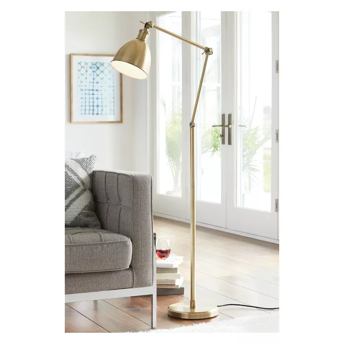 Industrial Task Floor Lamp Threshold In 2020 Task Floor Lamp Simple Floor Lamp Brass Floor Lamp