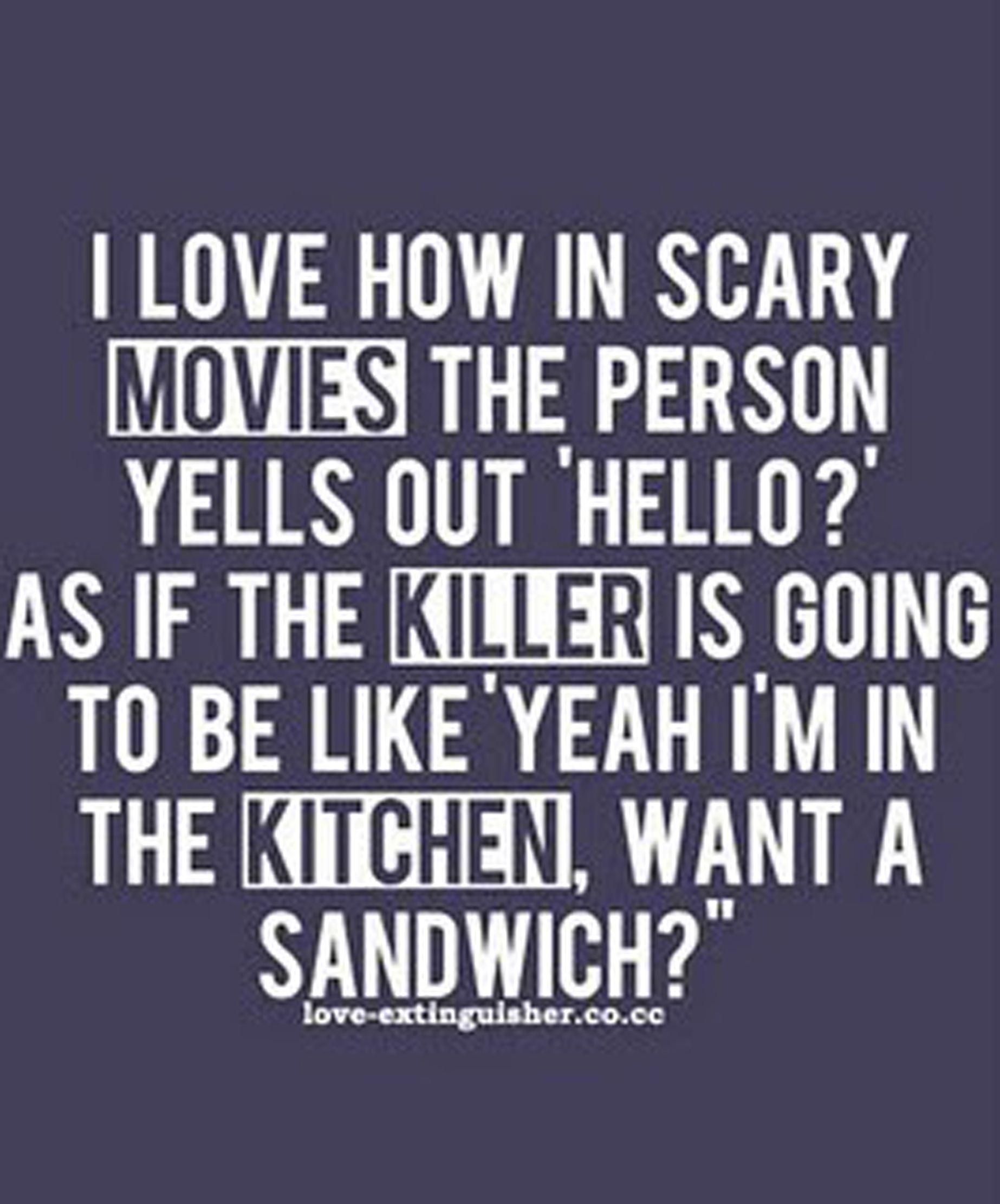 Wake Up You Silly Horror Ppl Funny Quotes Make Me Laugh Quotes