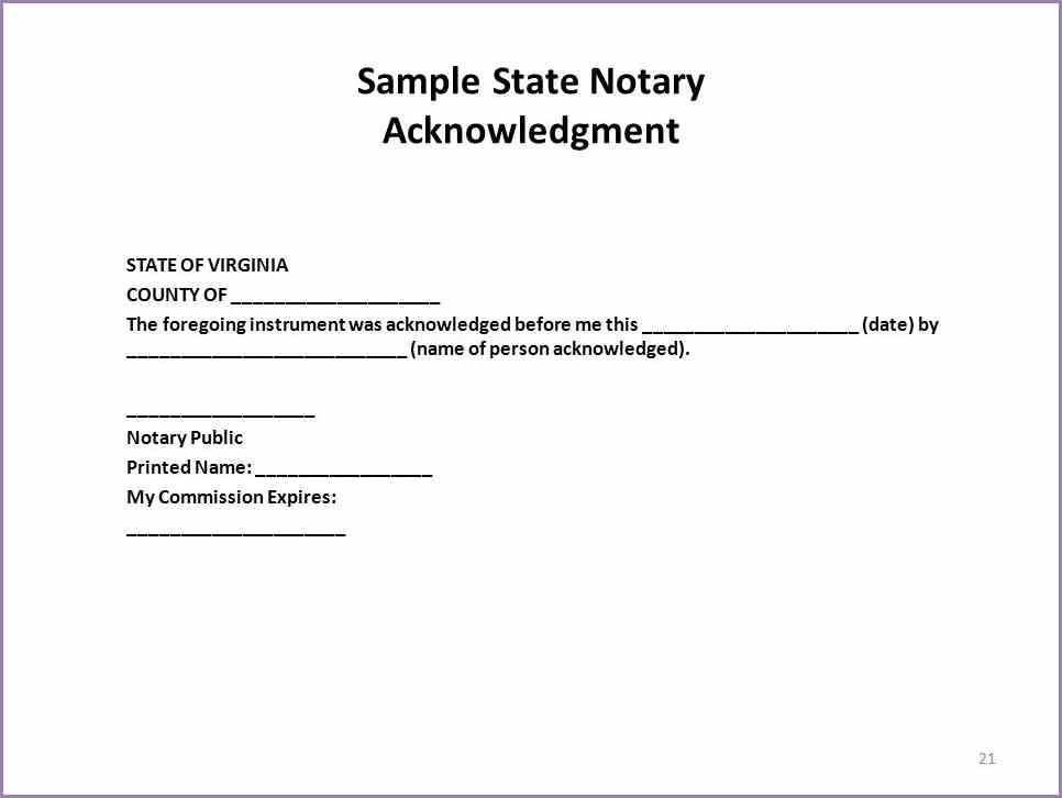 Notary Signature Example Sample Notary Signature Block Samplenotarycam Statement Template Good Essay Resume Template Free