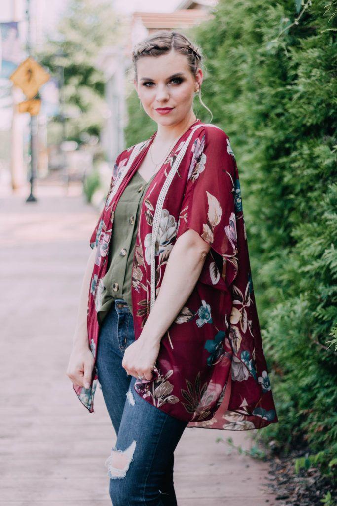 Kimono Style: 2 Ways To Wear It   Kimono fashion, Style, How to wear