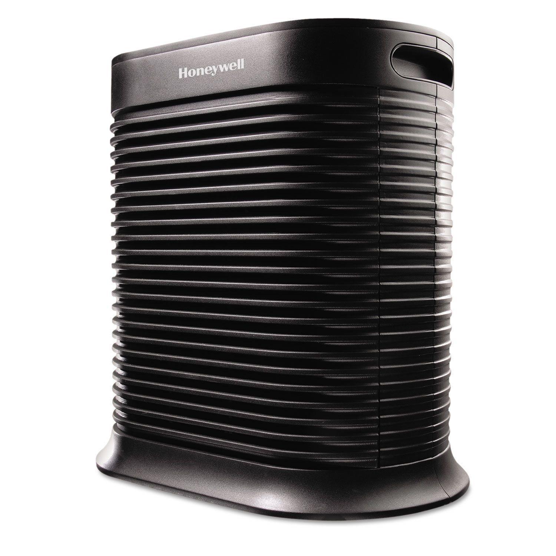 Honeywell True HEPA Air Purifier 465 sq ft Black (Black