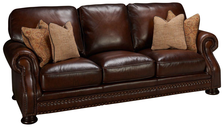 Simon Li Meadows Meadows Leather Sofa Jordan S Furniture Sofa