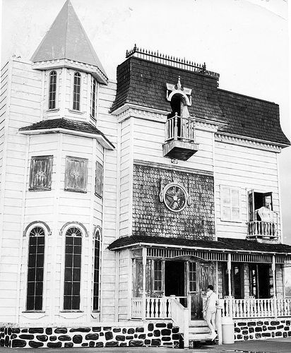 Old House Facade, Miracle Strip Amusement Park