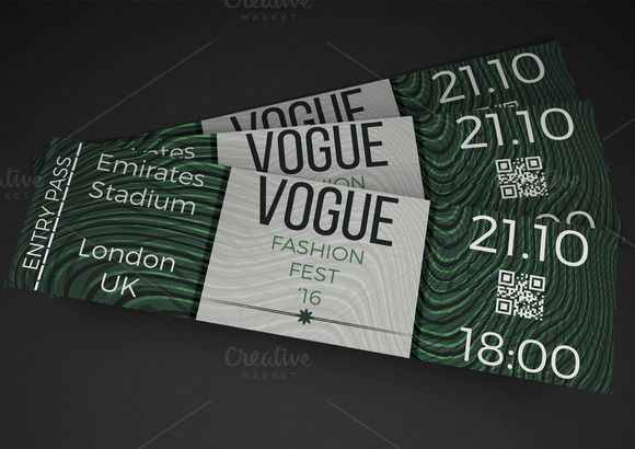 fashion show event ticket creativework247 invitation cards