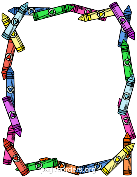 Free School Borders Clip Art Page Borders And Vector