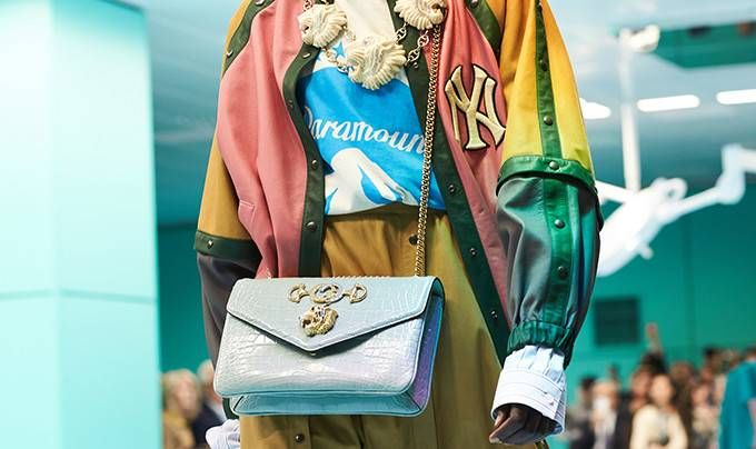 dad61f296ef A Sanskrit word meaning prince entitles Gucci s bag line featuring a tiger  head. Gucci Official Site – Redefining modern luxury fashion.
