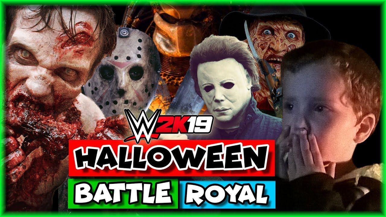 wwe 2k19 halloween battle royal - wwe 2k19 halloween horror match