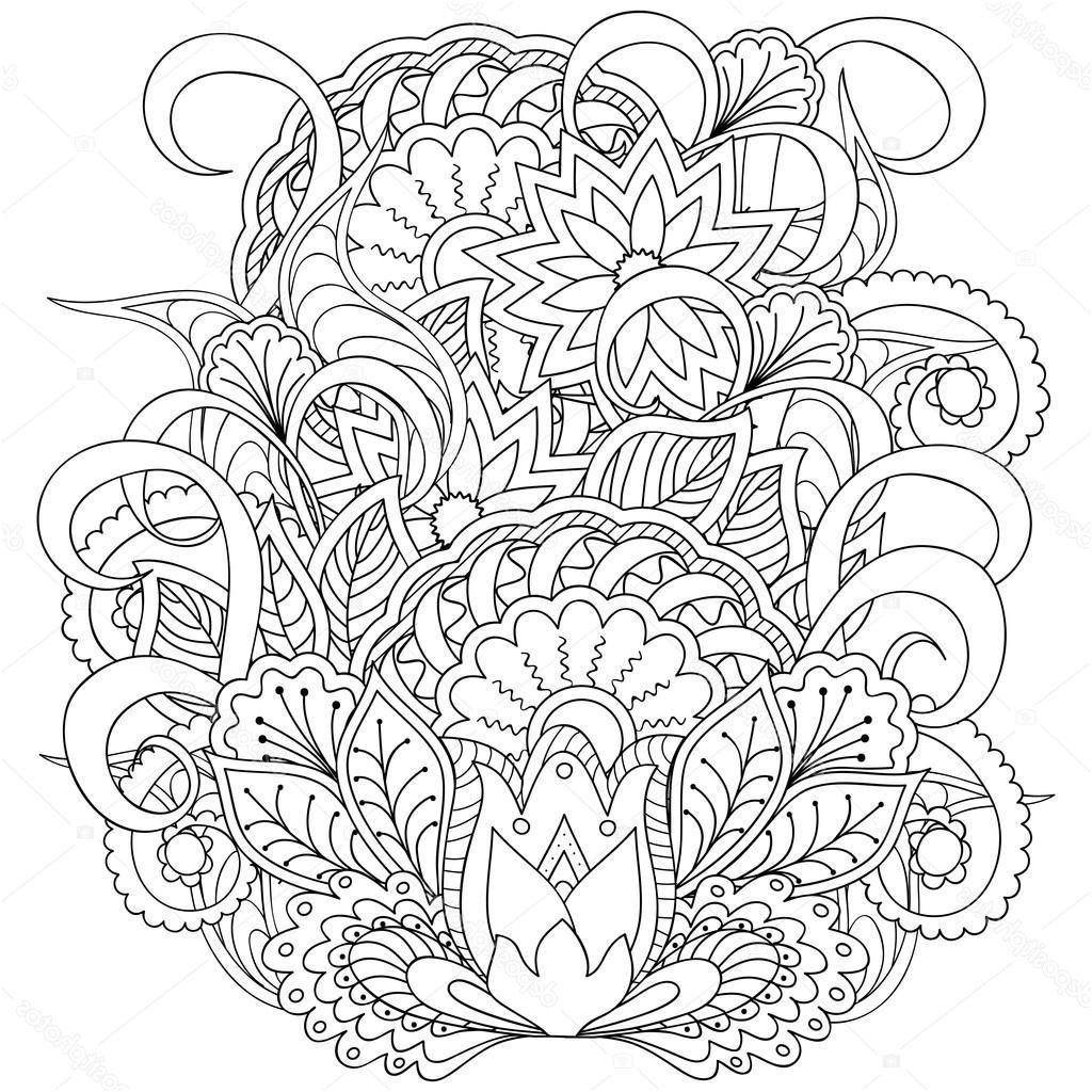 Coloriage Mandala Adulte