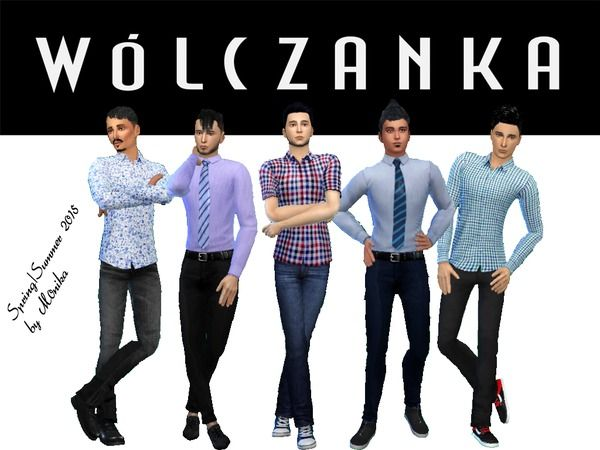 The Sims Resource: Shirts Pack by M0NIK4 • Sims 4 Downloads | sims 4