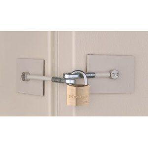 Fridge Lock That R Probably Cannot Break Door Color Front Door Colors Doors