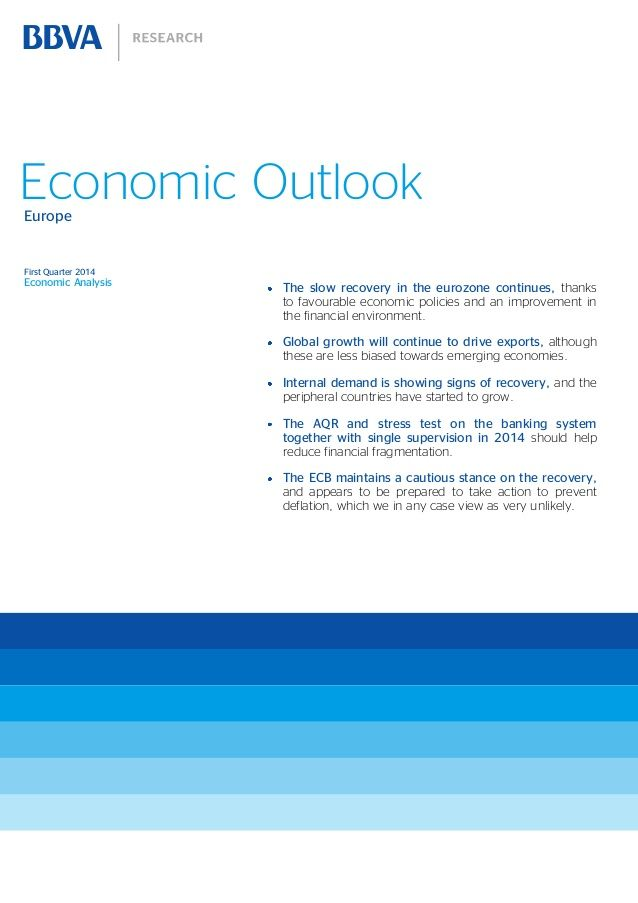 Europe Economic Outlook, first quarter 2014