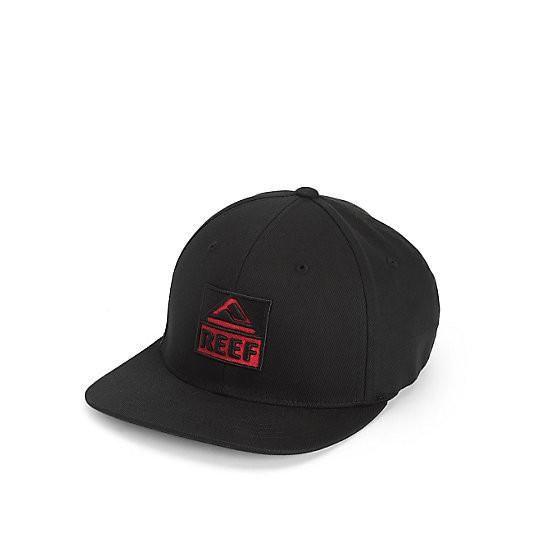 Mens Reef Classic Block I Black Baseball Cap Reef geSvKKJ1