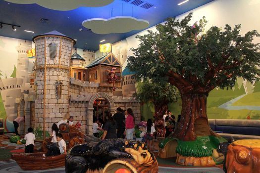 The New Three Level Frolic S Castle In Memorial City Mall Photo By Pin Lim Photo Pin Lim For The Chronicle Copyright Pin Lim Travel Fun City Memories