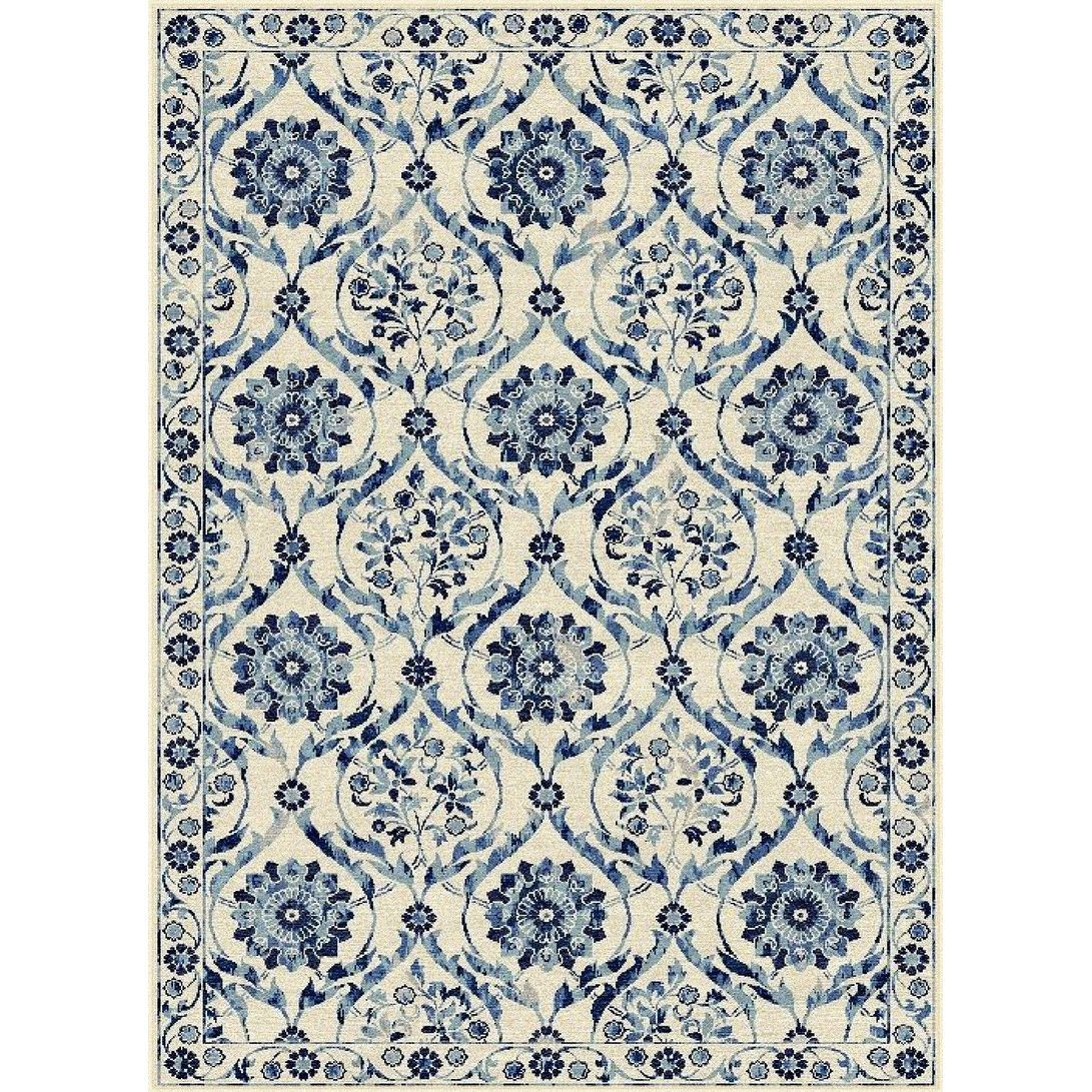 Popular 183 list blue and white area rugs for Blue and white oriental rug