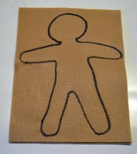 What is a poppet? A poppet is a doll made of cloth and stuffed with herbs. Wiccans often make a poppet to represent themselves.    Poppets are easy to make. Take two rectangular pieces of cloth. Draw a human shape (like a ginger bread man) on one piece of your fabric.