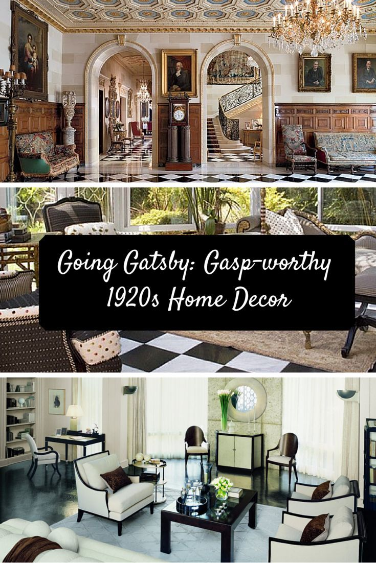 going gatsby gasp worthy 1920s home decor fashion check. Black Bedroom Furniture Sets. Home Design Ideas