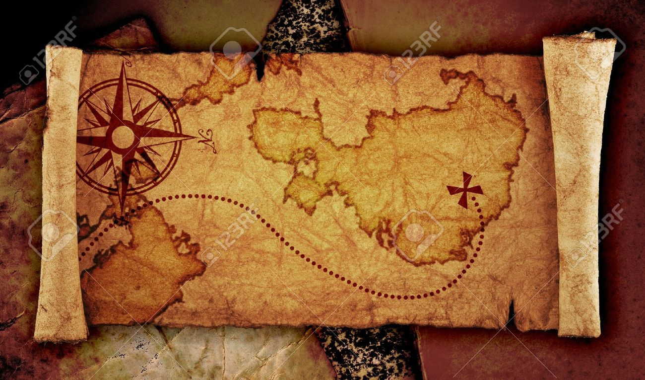 simple treasure maps vintage - photo #7