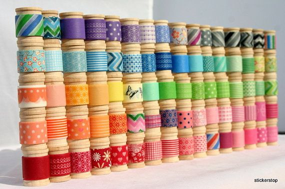 Washi Tape Assortment  16 yards of your choice 48 by StickerStop, $16.50