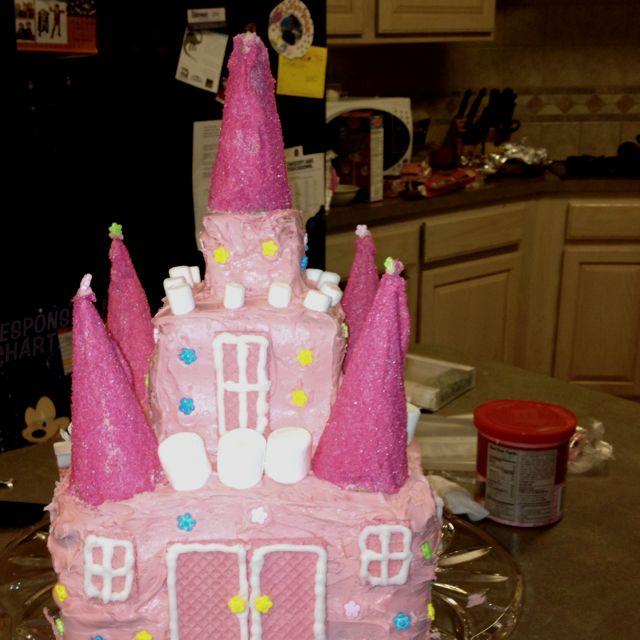 Darcy's castle cake