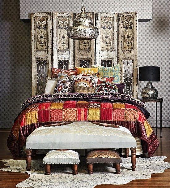 des paravents en t tes de lit idees decoration. Black Bedroom Furniture Sets. Home Design Ideas