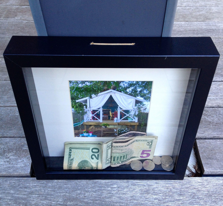 Shadow Box Piggy Bank Shadow Box Diy Shadow Box Piggy Bank