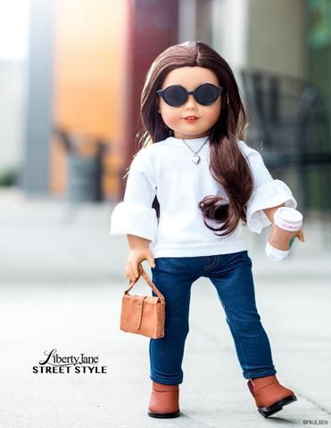 """T Shirt Variations 18"""" Doll Clothes Pattern"""