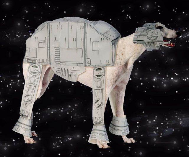AT-AT Dog Costume & AT-AT Dog Costume | Costumes and Dog