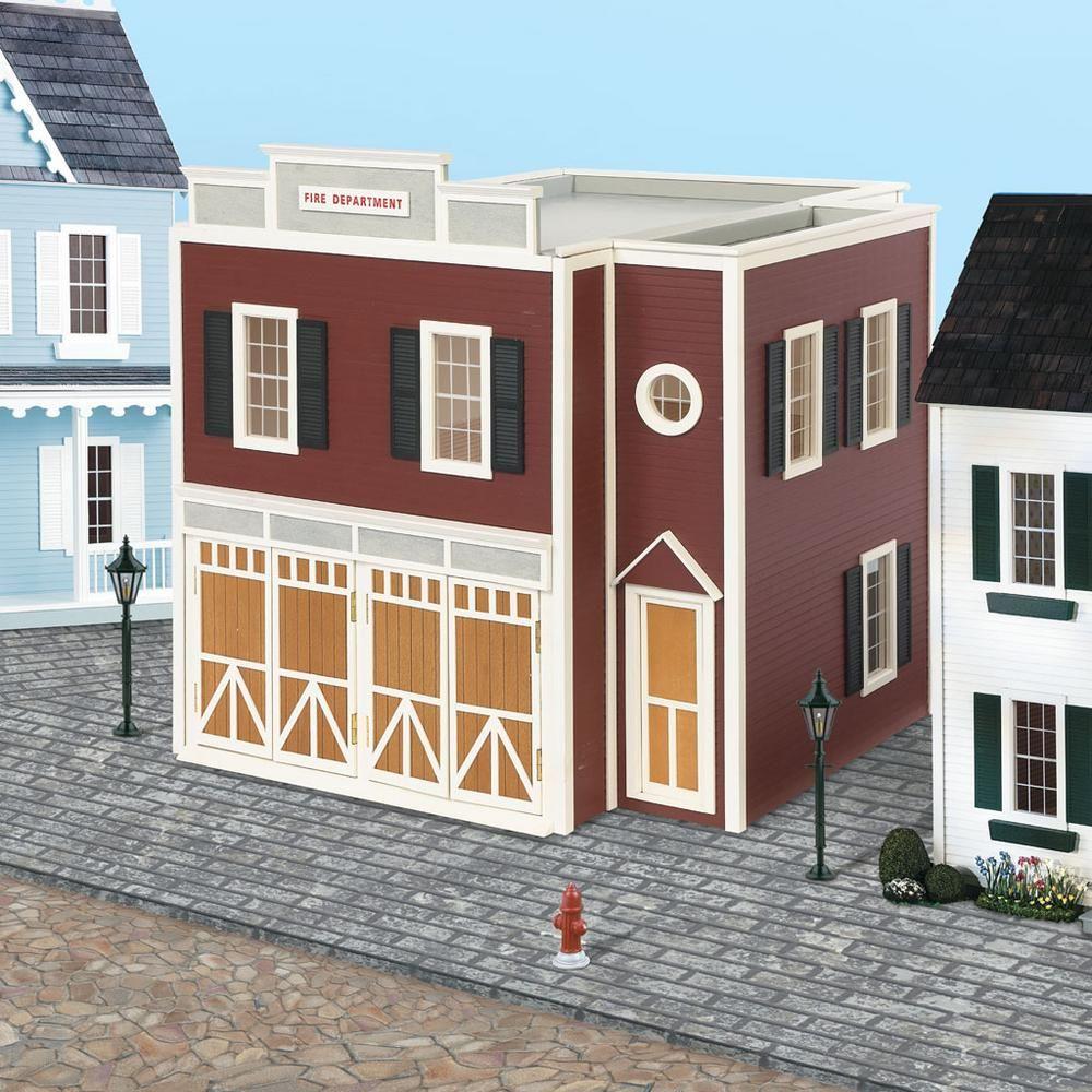 Houseworks Firehouse Dollhouse Kits