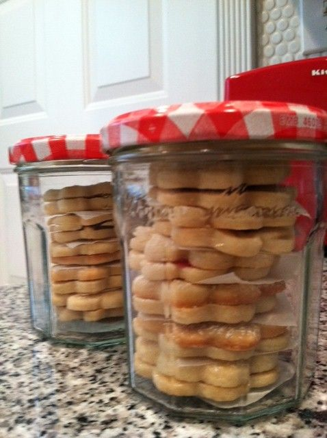 I use Bonne Maman jars to package my specialty sweets