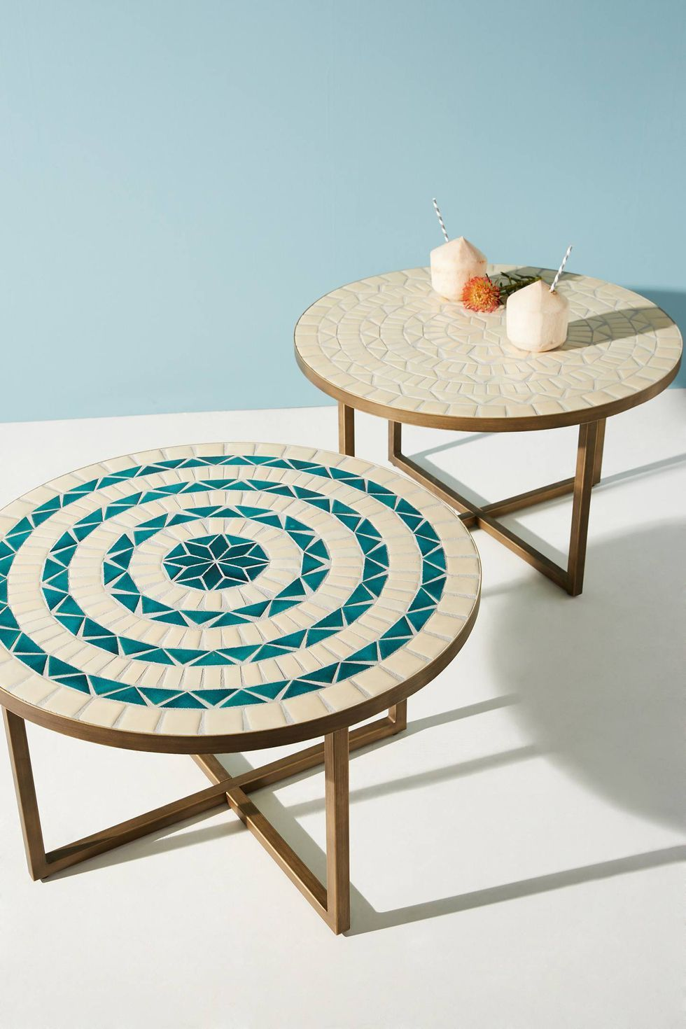 10 Small Coffee Tables That Work In Even The Tiniest Homes Outdoor Coffee Tables Tiled Coffee Table Coffee Table Small Space [ 1470 x 980 Pixel ]