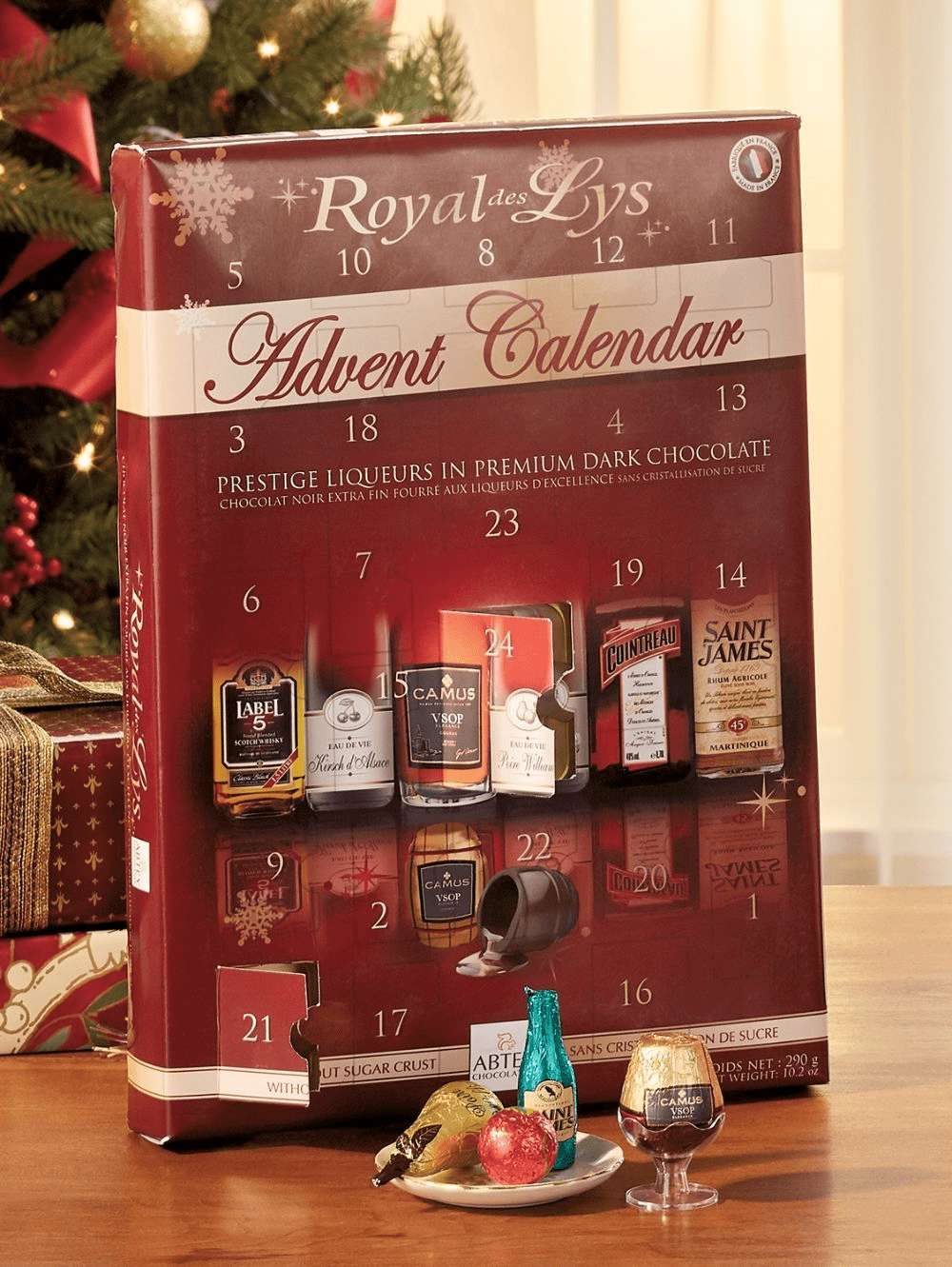 Boozy Advent Calendars Are The Best Way To Drink Through The Holidays Chocolate Advent Calendar Alcohol Advent Calendar Advent Calendar