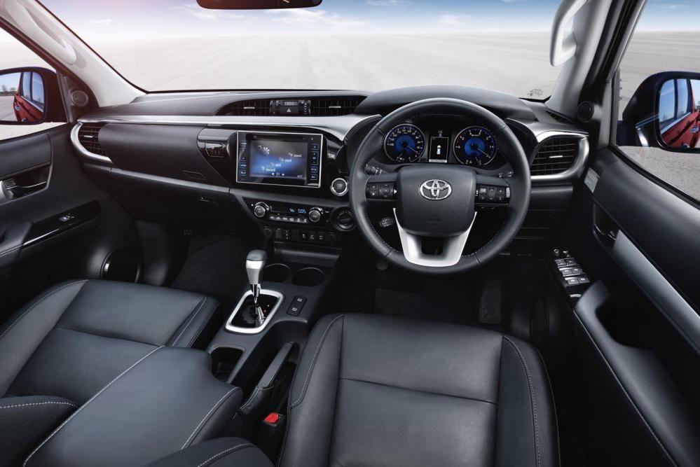 New Toyota Hilux makes a splash | Eurekar
