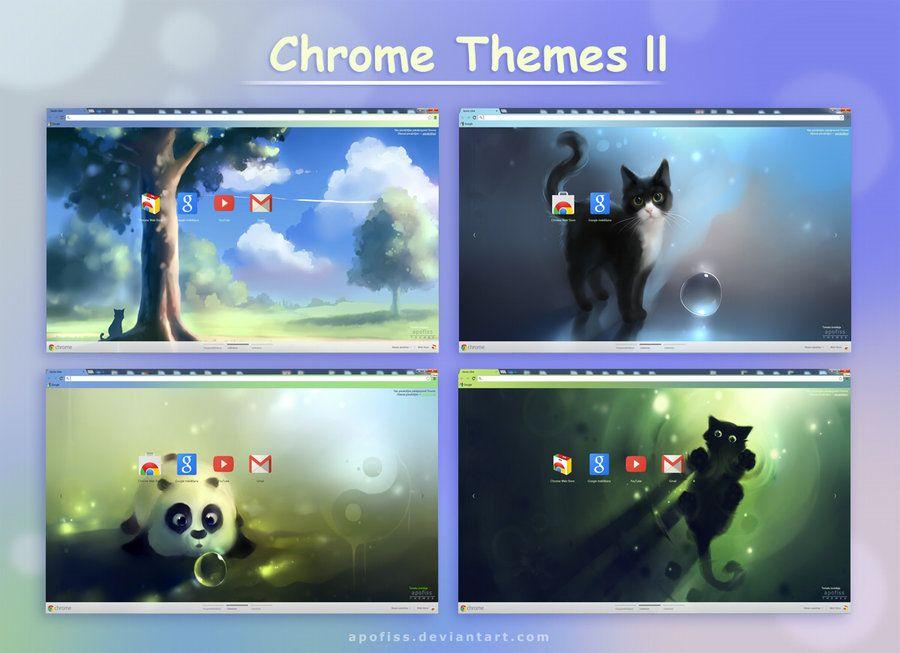 chrome themes ll by Apofiss deviantart com   random   Chrome