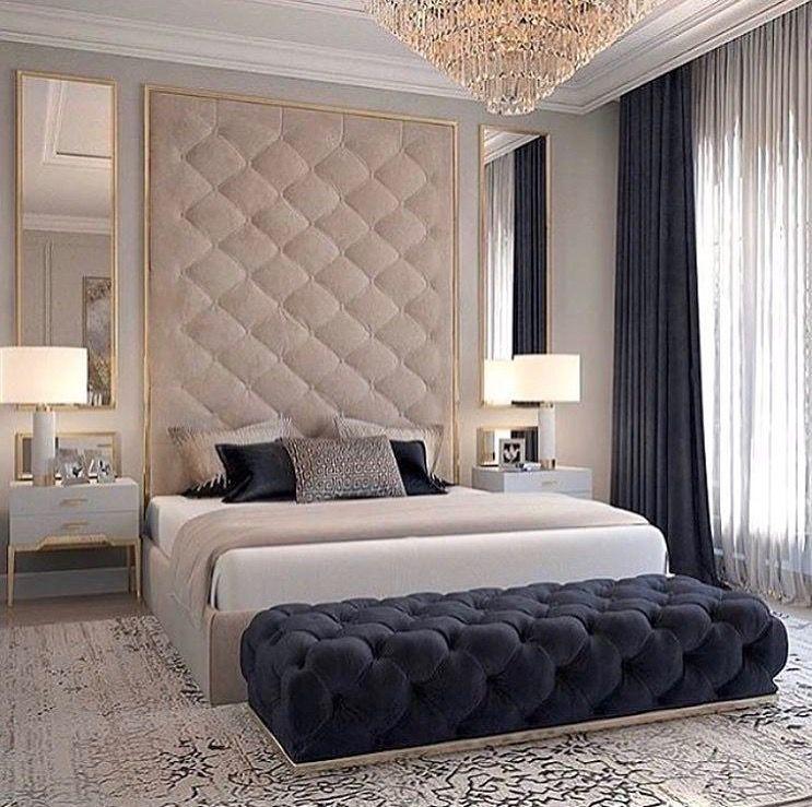Pin By Jess On I N T E R I O R Bedrooms Contemporary Bedroom Design Luxury Bedroom Master Luxurious Bedrooms