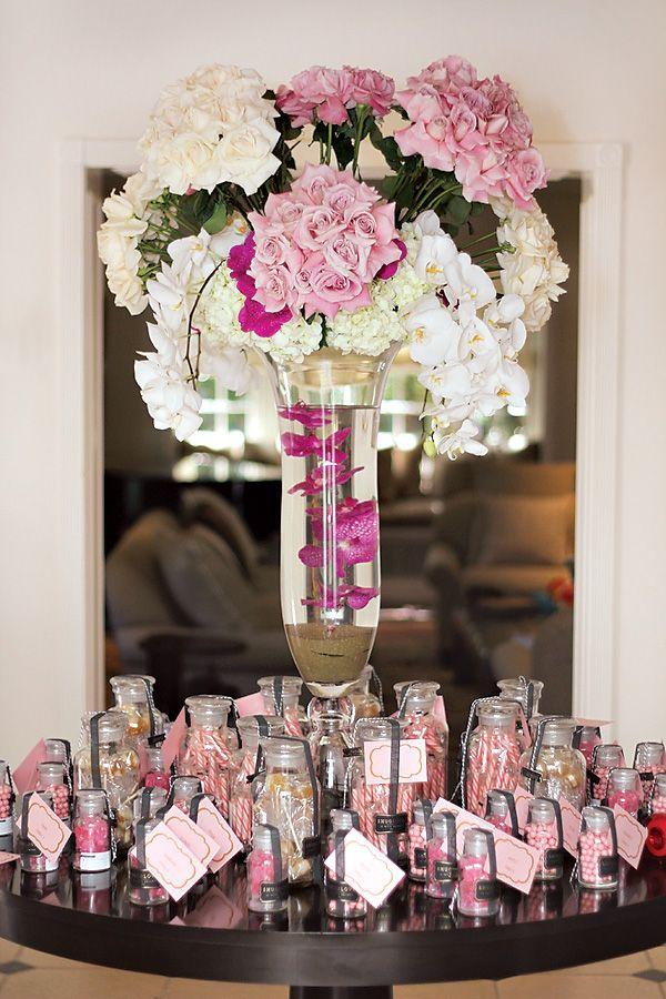Elegant Pretty In Pink Baby Shower Amazing Florals Florals