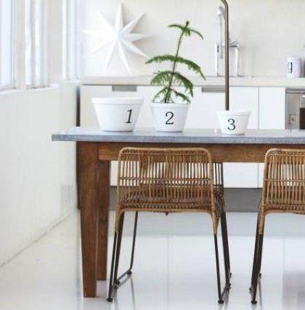 Elegant Workstation Dining Table   Design Vintage   House Doctor Vintage Industrial  Furniture, Modern Furniture,