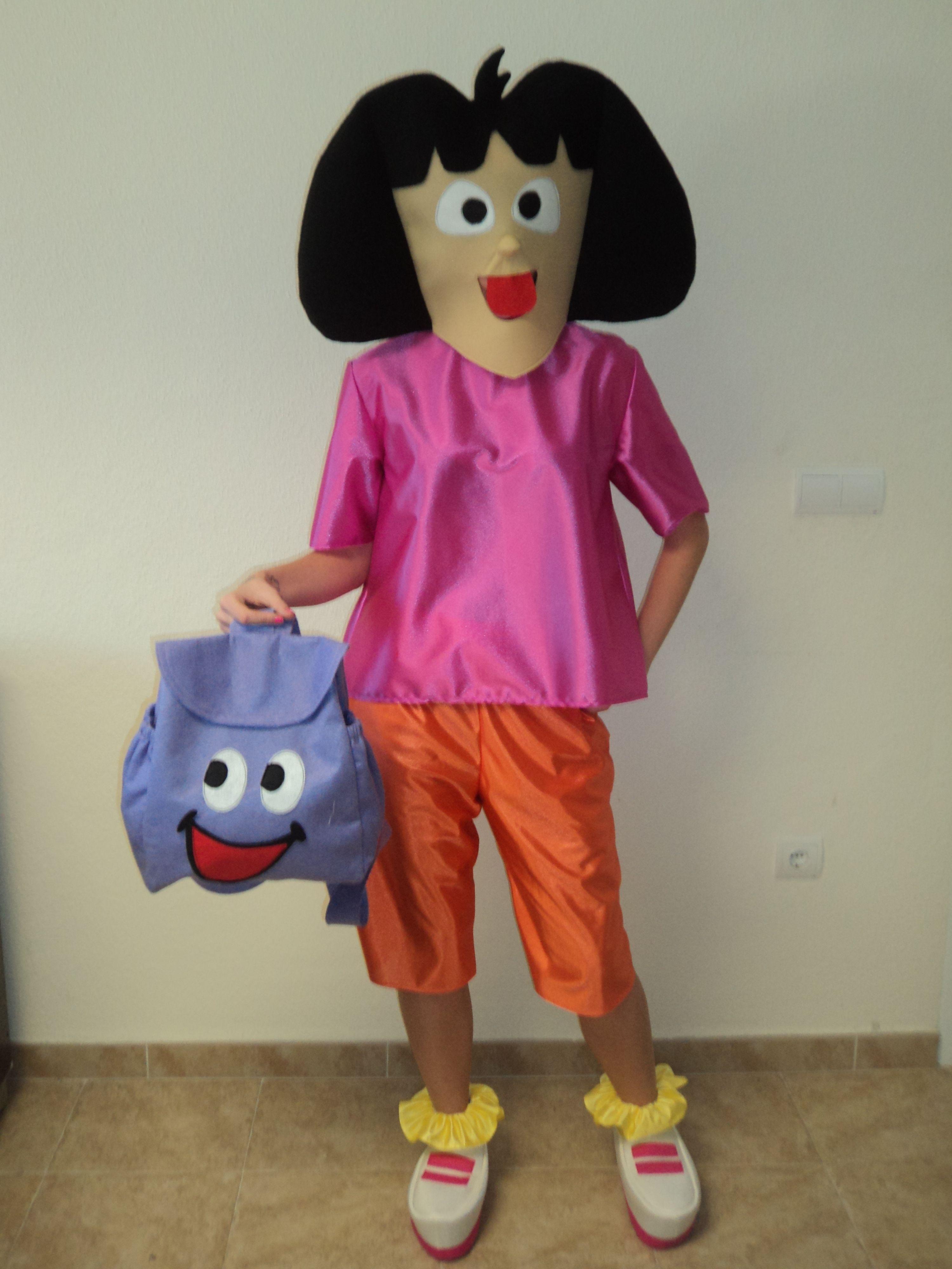 Disfraz de #dora la exploradora Disfraces para #grupos ...