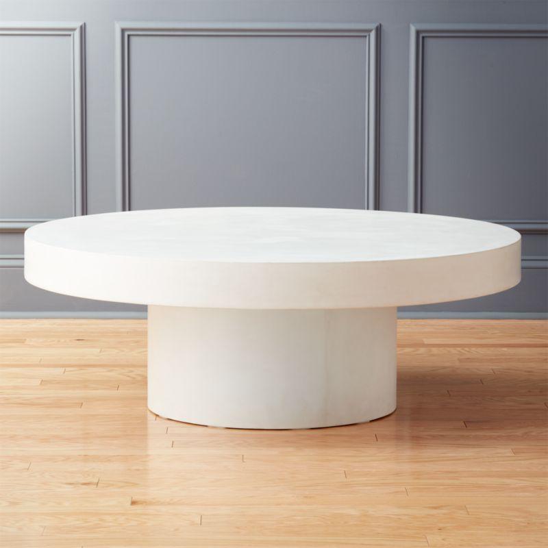shop shroom low round coffee table