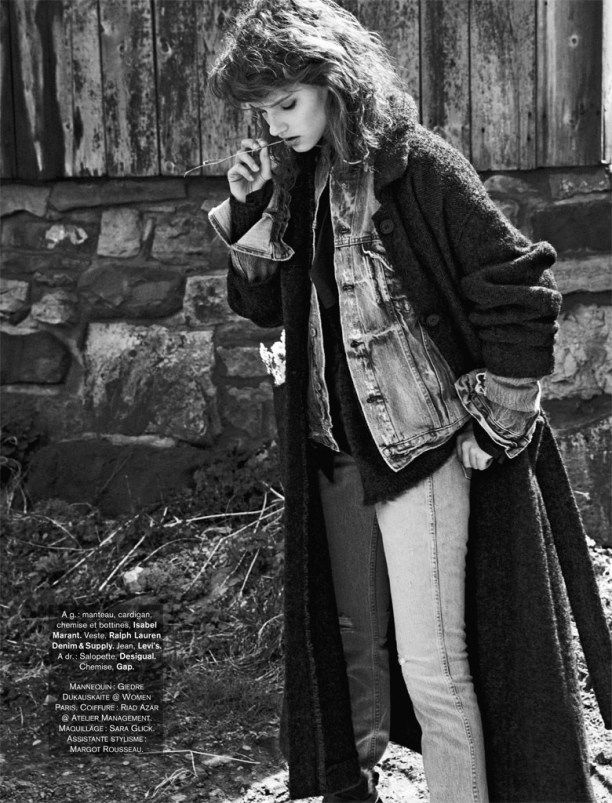 Androjean   Glamour France december 2014