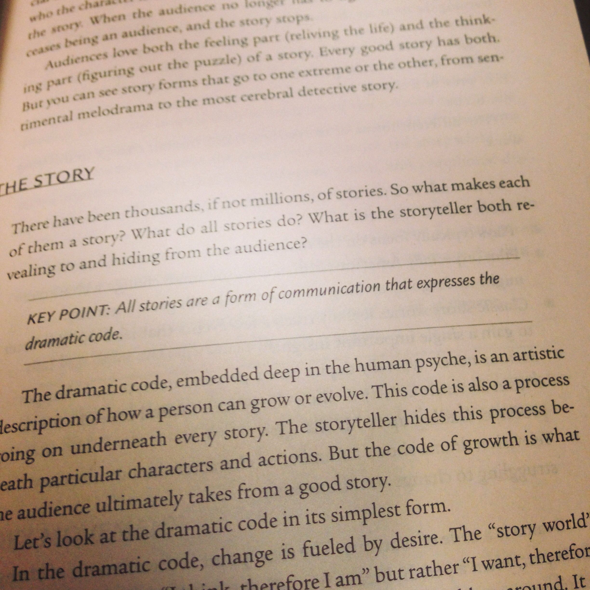 From The Book The Anatomy Of Story Story Telling Pinterest