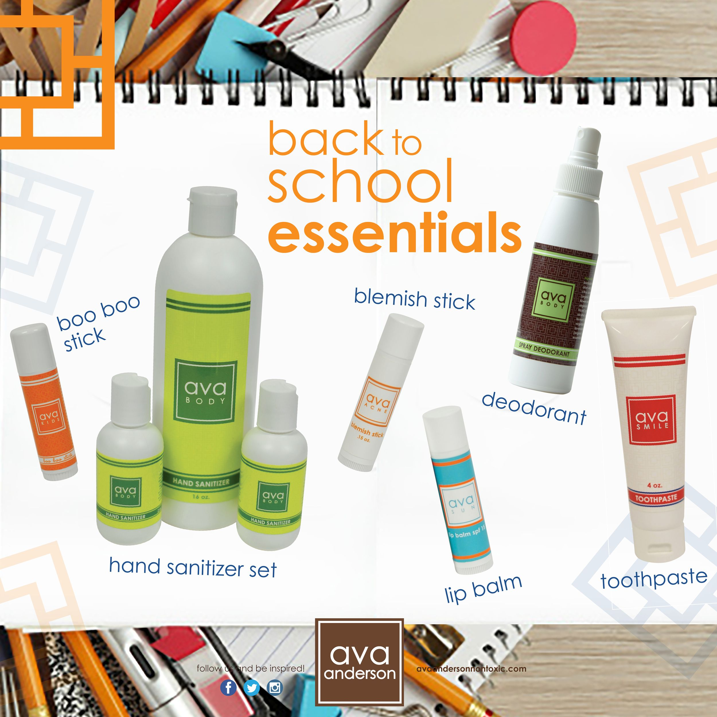 Back To School Essentials Ava Anderson Non Toxic Style Www