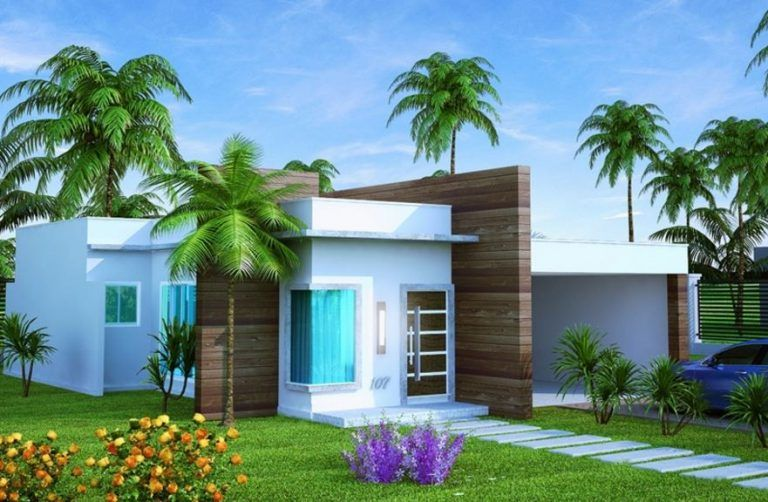 Fachadas de casas peque as 2017 planos pinterest for Planos y fachadas de casas pequenas