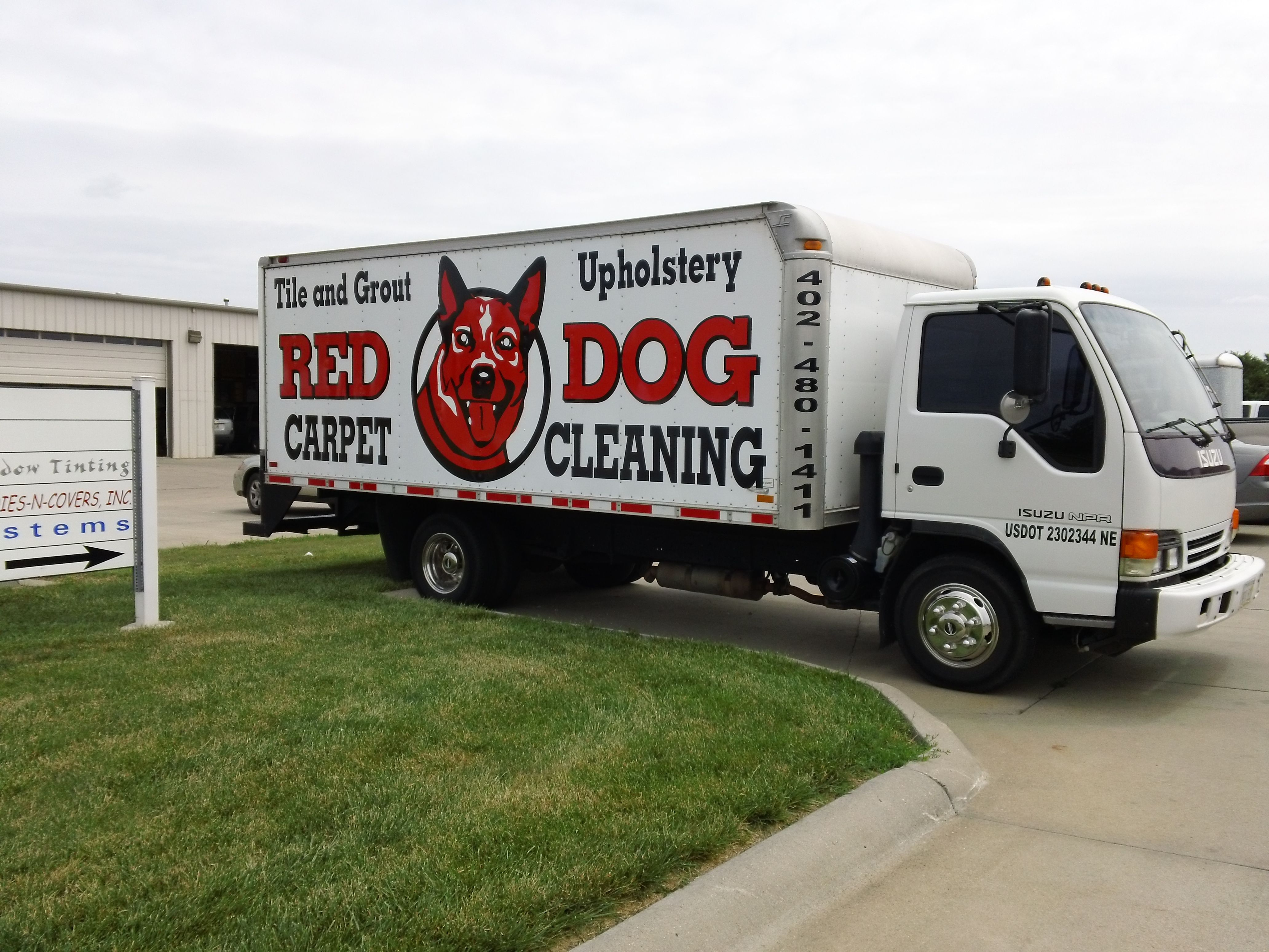 Red Dog #Carpet #Cleaning #wrap