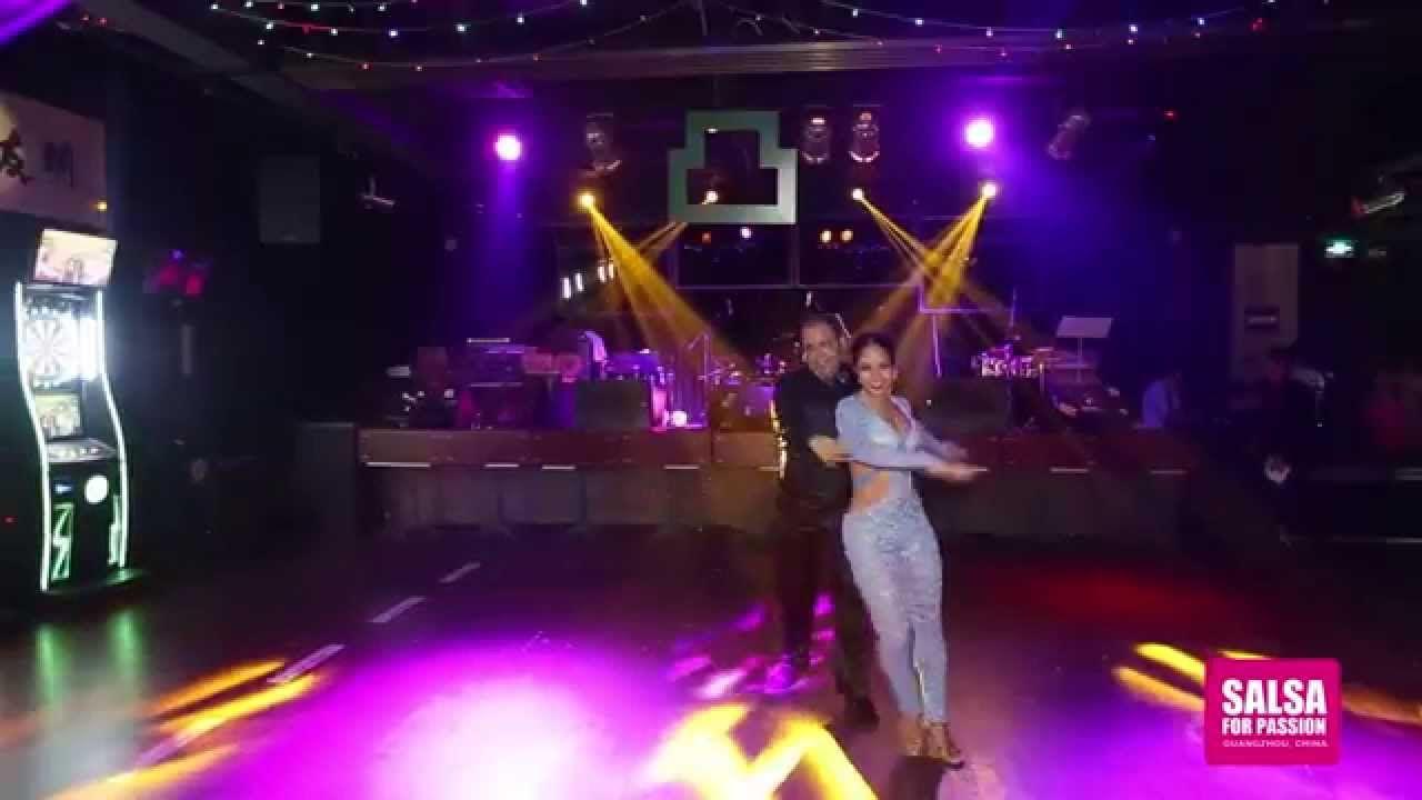 Alex and Desiree bachata performance@ Guangzhou, China  - YouTube