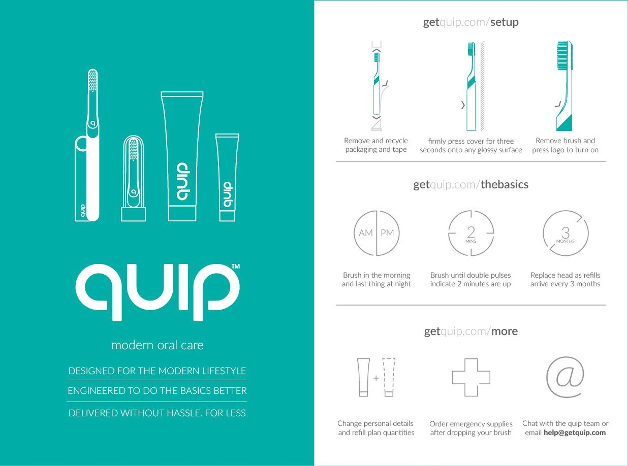 quip | Modern Oral Care  Delivered on Behance | Health